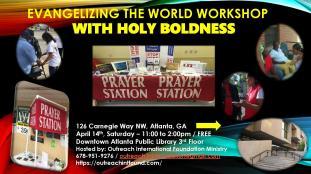 Evangelizing the World Workshop.Flyer