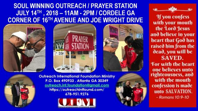 July 14th outreach.1 - Cordele.GA