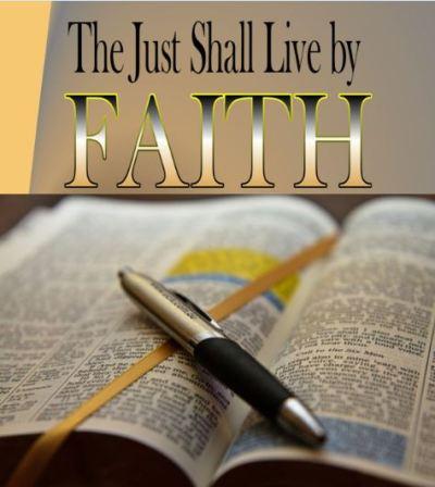 The Just Shall Live by Faith 4