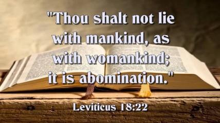 Leviticus 18-22